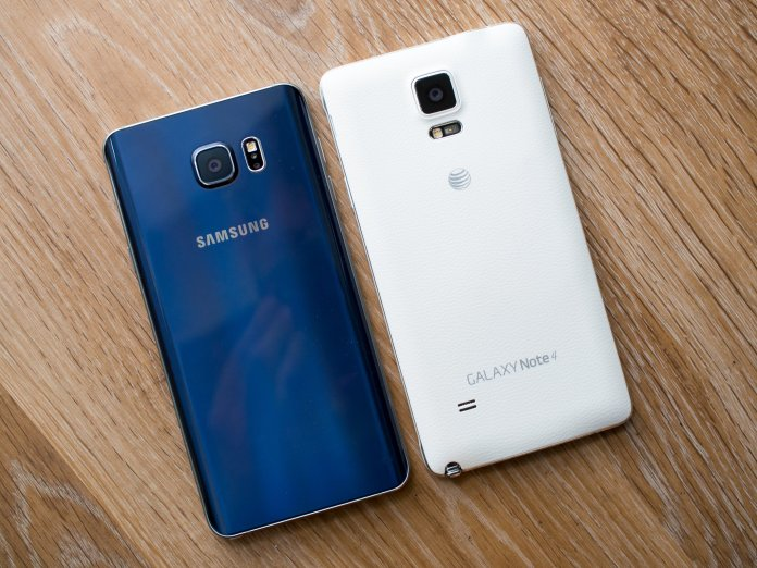 Galaxy Note 5 and Note 4