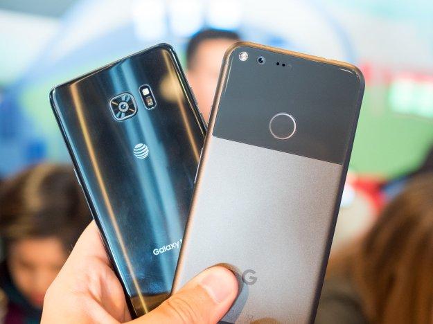 First comparison: Google Pixel XL vs. Galaxy Note 7