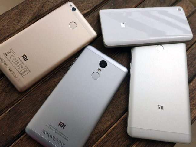 xiaomi-handsets Xiaomi sells 500,000 phones in India in three days, claims third spot in the country Android