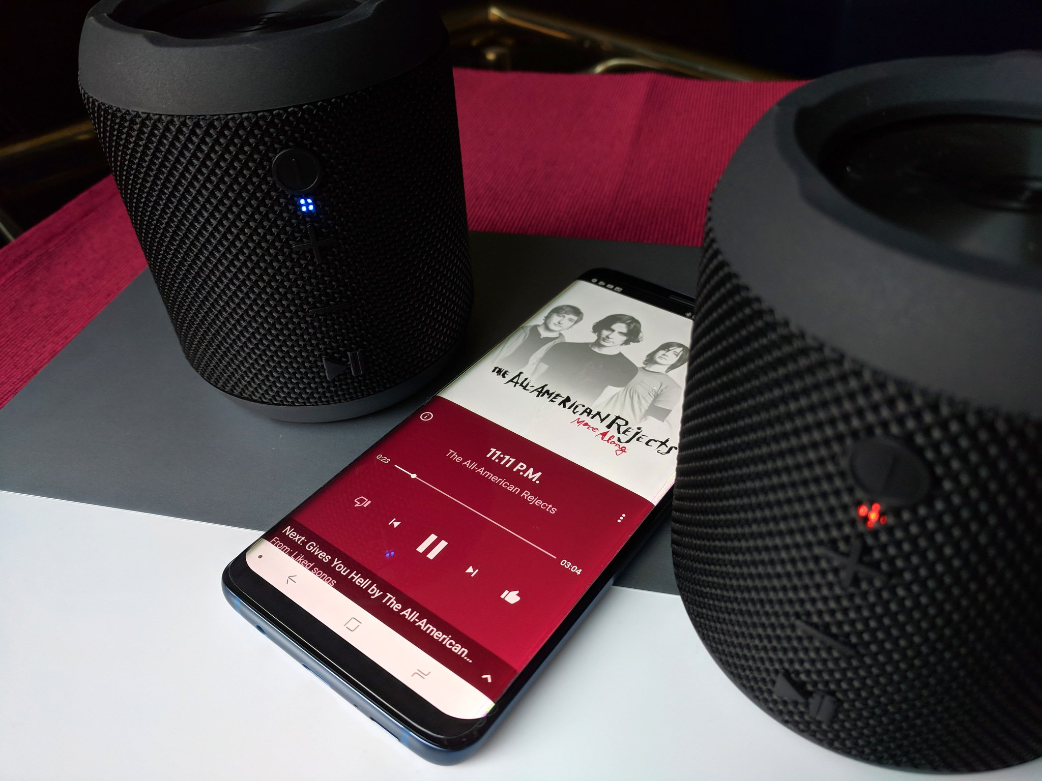 Led Touch Portable Mini Wireless Bluetooth Speakers Hands Free Sound Music To Prevent And Cure Diseases Portable Audio & Headphones Audio Docks & Mini Speakers