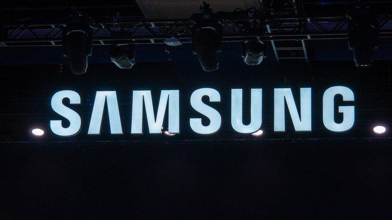 Samsung Logo at CES 2019