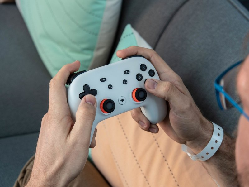 The controller used for Stadia