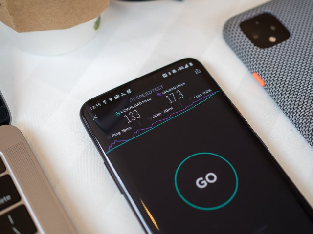 T-Mobile 5G network on the OnePlus 7T Pro