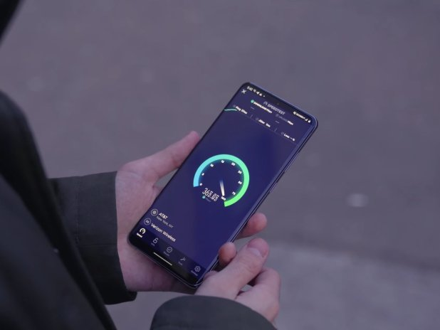 Verizon 5G Speed Test