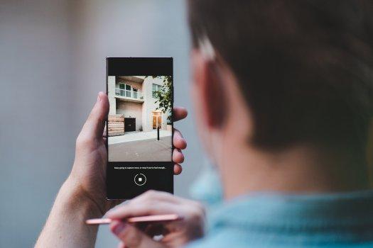 Galaxy Note 20 Ultra camera interface