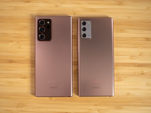 Galaxy Note 20 Ultra vs. Galaxy Note 20