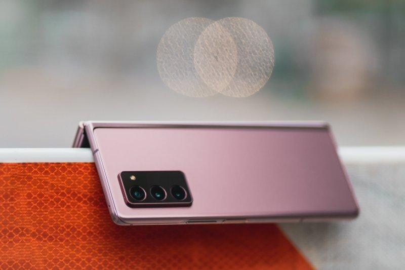 Samsung Galaxy Z Fold 2 in Mystic Bronze