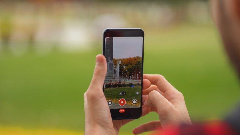 Googel Pixel 5 Video