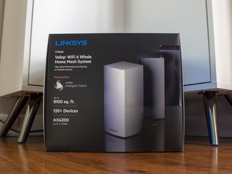 Linksys Velop Ax4200 Box