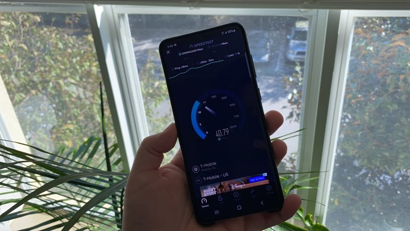 Mint Mobile Speed Test