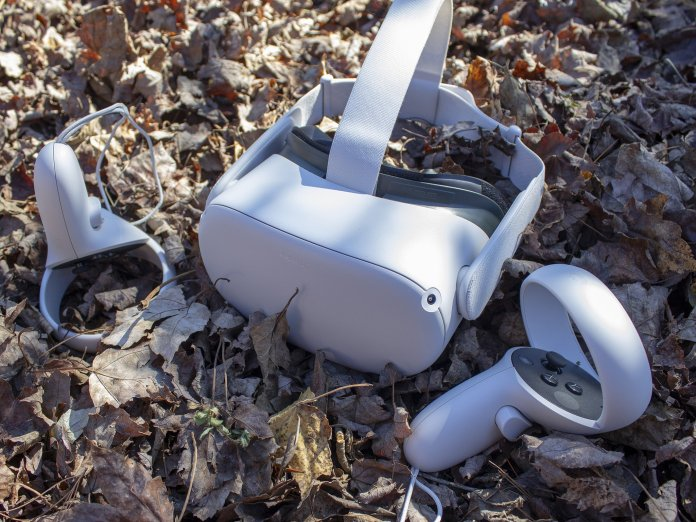 Oculus Quest 2 Fall Leaves