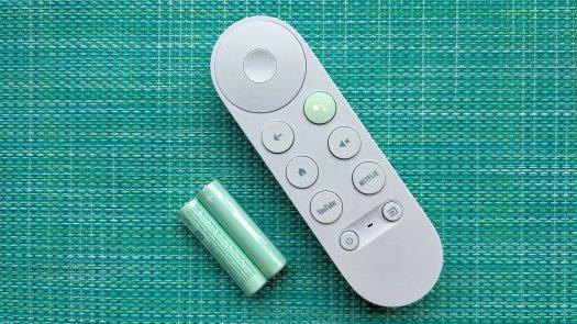 Chromecast with Google TV Remote in Sky Blue