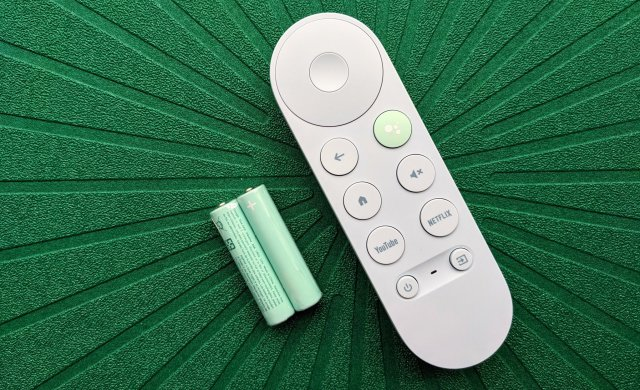 Chromecast Google Tv Remote Green
