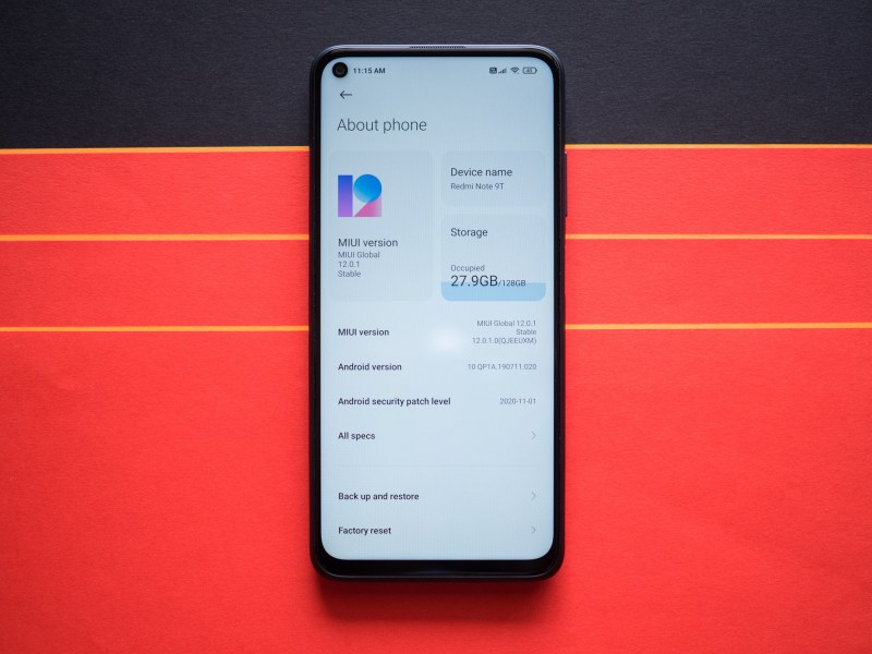 Redmi Note 9T review