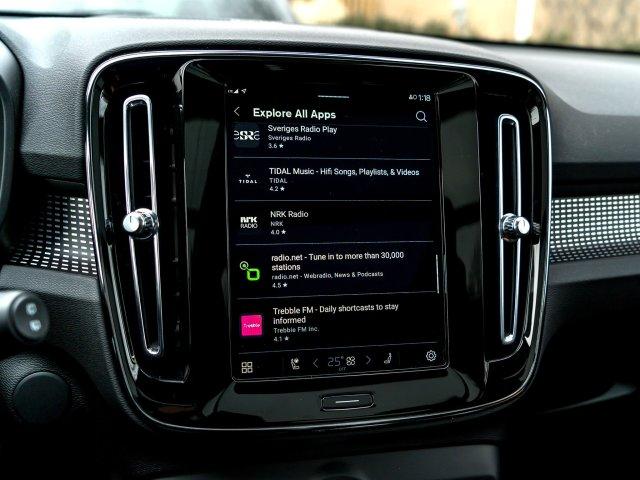 Android Automotive App List