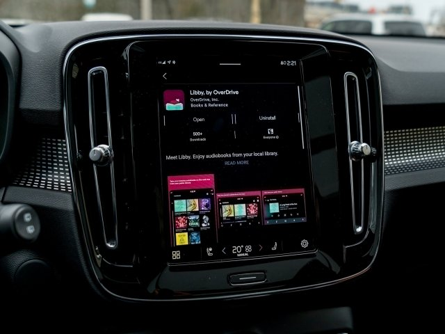 Android Automotive Libby Overdrive