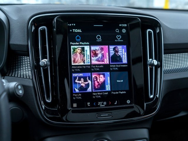 Android Automotive Tidal Screen