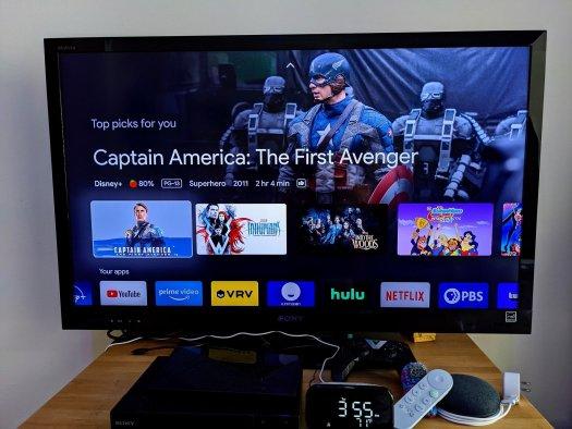 Chromecast Google Tv Home Screen Cap