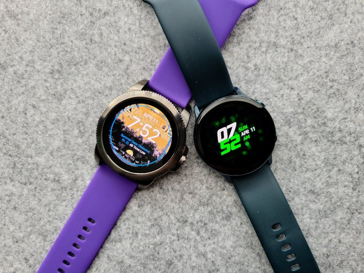 Fossil Gen 5E and Samsung Galaxy Watch Active