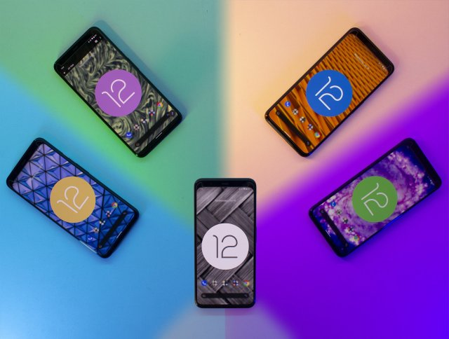 Android 12 Beta 3 Hero