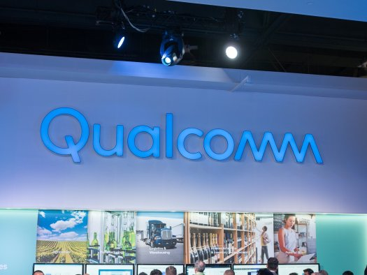 Qualcomm booth at CES 2018