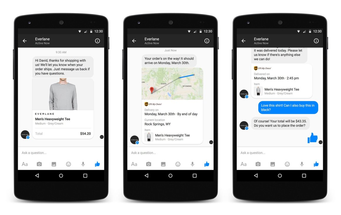 Messenger Platform lets developers hook their apps into Facebook Messenger
