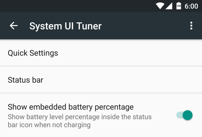 Battery-percentage