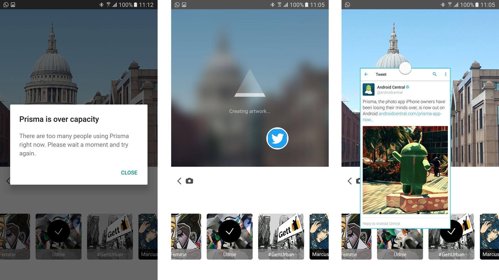 Prisma screenshots