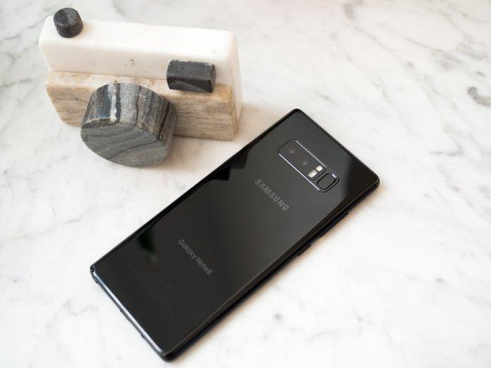 Galaxy Note 8 cameras