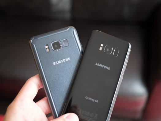 Galaxy S8 Active vs. Galaxy S8