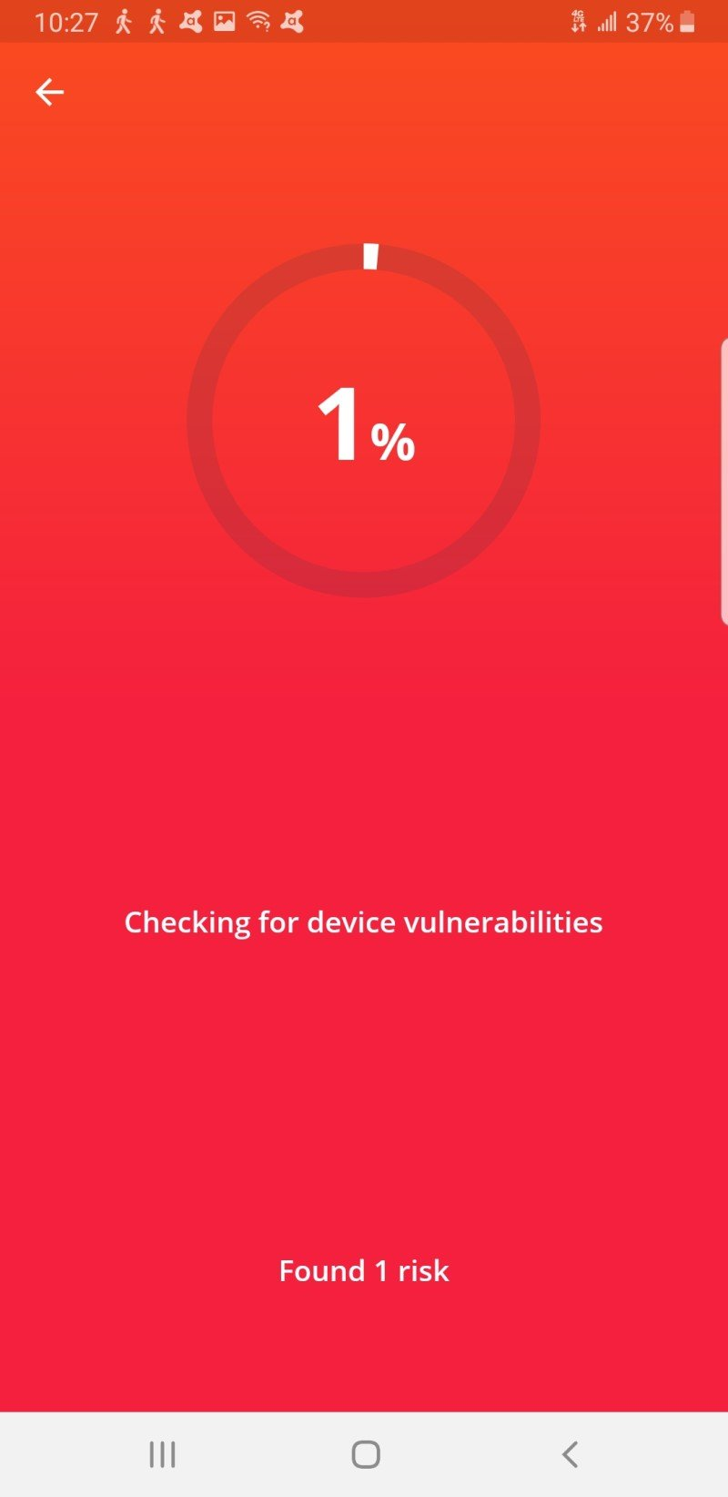 Avast Mobile Security Screenshot Edited