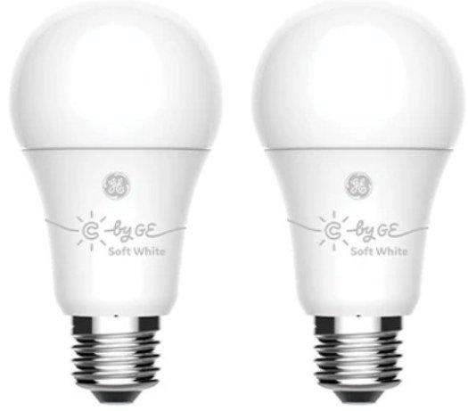C By Ge A19 Smart Light Bulb