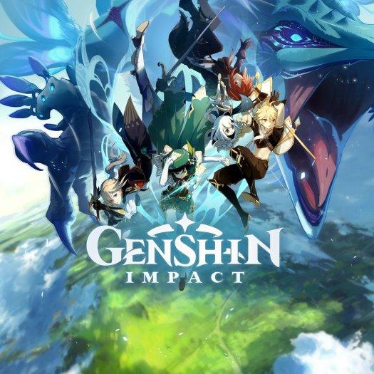 Genshin Impact Box Art