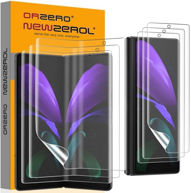 Orzero Galaxy Z Fold 2 Screen Protectors