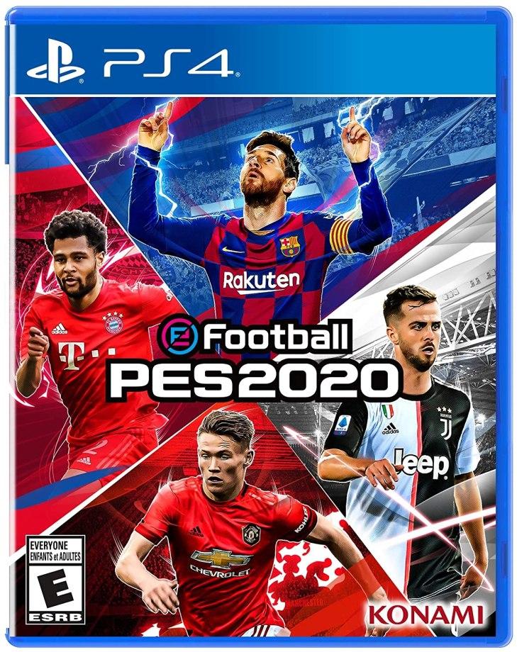 Efootball Pro Evolution Soccer 2020 Box Art