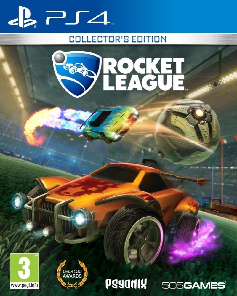 Rocket League Collectors Edition Ps