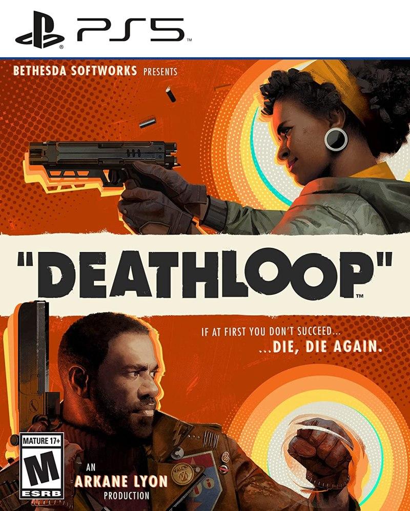 Deathloop Ps5 Boxart