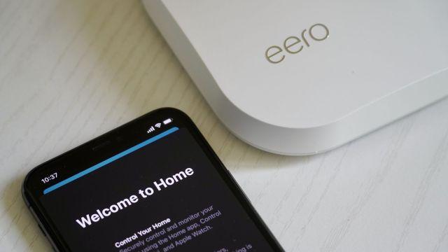 Eero Pro with iPhone and HomeKit