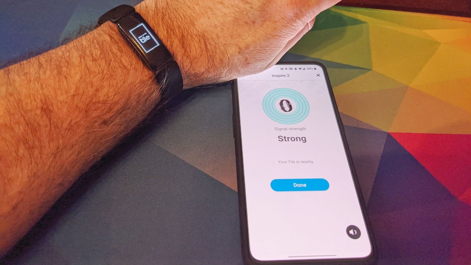 how to find your lost fitbit inspire 2