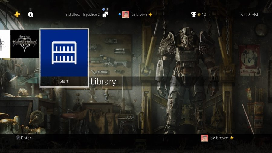 How to delete games from your PlayStation 4   Android Central From the main page of your PS4  scroll all the way to the right and select  Library