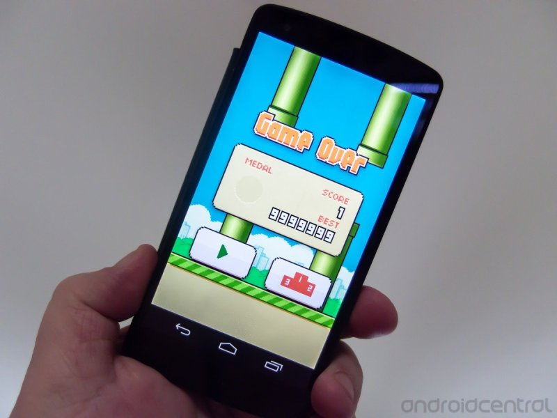 How to cheat at Flappy Bird for Android   Android Central Flappy Bird