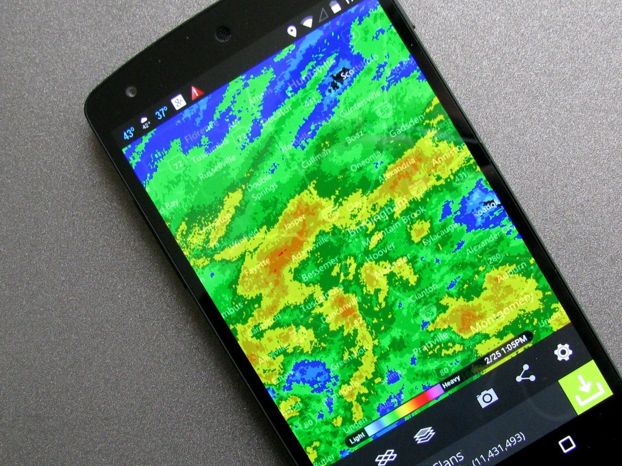 HD Decor Images » The best weather radar apps for American users   Android Central MyRadar isn t the most advanced radar app out there  but it s great for