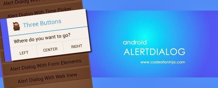 14+ Android AlertDialog Builder Example Codes and Output