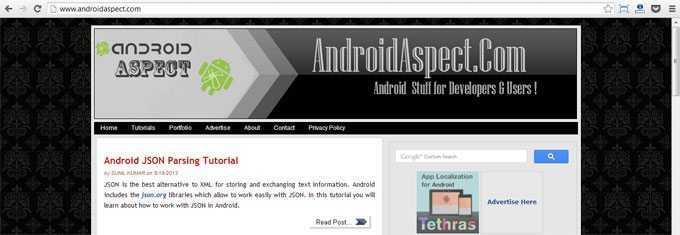 android-aspect