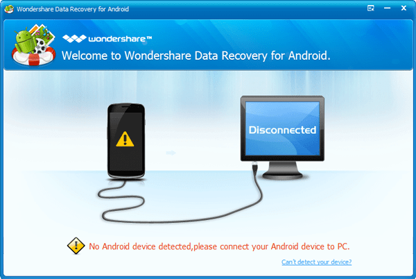 Wondershare-Data-Recovery for android