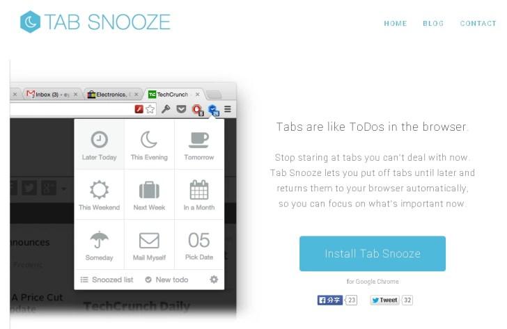 Chrome, Tab Snooze eklentisi sekme Trafiğini Azaltıyor!