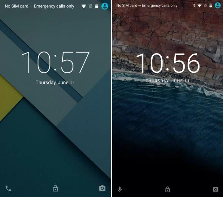 Kilit Ekranı Android 7