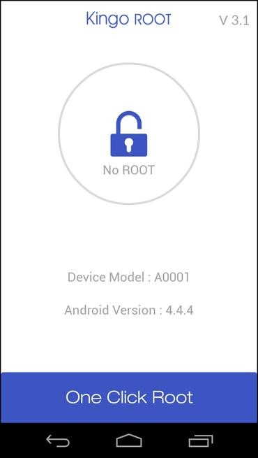 Install Kingo Root app