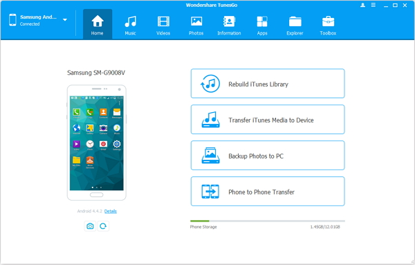 android safe mode Launch MobileTrans