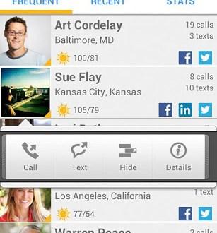 Current Caller ID, identificador de llamadas para android
